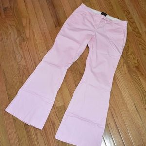 THE LIMITED Pink Bell Bottom Pants